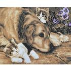 Рисунок на канве Гелиос Ф-056 «Друзья» 52*43 см