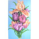 Рисунок на канве Гелиос Ц-001 «Тюльпаны» 36*60 см