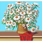Рисунок на канве Гелиос Ц-003 «Ромашки» 37*41 см