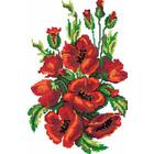 Рисунок на канве Гелиос Ц-007 «Маки» 25*37 см