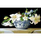 Рисунок на канве Гелиос Ц-023 «Лилии» 39*56 см