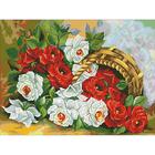 Рисунок на канве Гелиос Ц-025 «Розы» 37,5*49,5 см