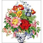 Рисунок на канве Гелиос Ц-031 «Букет цветов» 48*52,5 см
