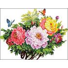 Рисунок на канве Гелиос Ц-032 «Букет с пионами» 50*40 см
