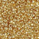 Бисер Preciosa Чехия (уп. 5 г) 18181 золотистый металлик