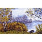 Рисунок на канве МП (28*37 см) 1399 «Осень» (снят)