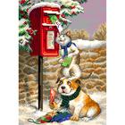 Рисунок на канве МП (28*37 см) 1924 «Почтальоны»