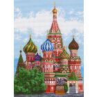 Рисунок на канве МП (37*49 см) 0920 «Храм Василия Блаженного»