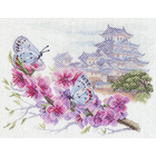 Рисунок на канве МП (37*49 см) 1699 «Восточная весна»