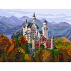 Рисунок на канве МП (37*49 см) 1898 «Замок в Баварии»