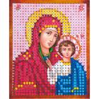 Рисунок на полотне 6*7 см М-001 «Казанская Богородица»