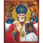 Рисунок на полотне 6*7 см М-003 «Николай Чудотворец»