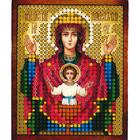 Рисунок на полотне 6*7 см М-009 «Неупиваемая Чаша Богородица»