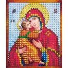 Рисунок на полотне 6*7 см М-011 «Владимирская Богородица»