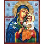 Рисунок на полотне 6*7 см М-012 «Неувядаемый Цвет Богородица»