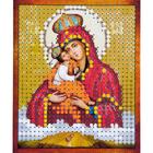 Рисунок на полотне 6*7 см М-013 «Почаевская Богородица»