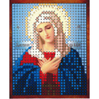 Рисунок на полотне 6*7 см М-016 «Умиление Богородица»