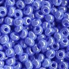 Бисер Preciosa Чехия (уп. 5 г) 36050 синий прозрачный перламутровый