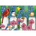 Рисунок на полотне А3 E-0307 «Птички на заборе» 29*39 см
