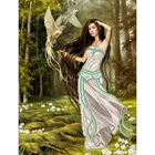 Рисунок на полотне А3 E-0315 «Лесная фантазия» 29*39 см