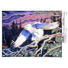 Рисунок на полотне А3 E-0326 «Белая сова» 29*39 см