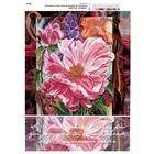 Рисунок на полотне А3 E-0328 «Цветок любви» 29*39 см