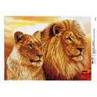 Рисунок на полотне А3 E-0331 «Хозяева саванны» 29*39 см