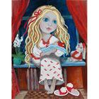 Рисунок на полотне А4 MA-041 Смысл жизни-улыбка мамы 18*24 см