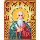 Рисунок на ткани «Наследие ИСА5-016 Св. Андрей Первозванный» (со стразами и бусами) 17,5*21,5 см