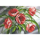 Рисунок на ткани «Нова Слобода» MAX.БИС 3001 Весенний букет 27*38 см