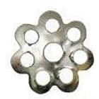 Розетка для бус Zlatka DR-012 серебро