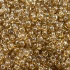 Бисер Preciosa Чехия (уп. 5 г) 48042 бежевый прозрачный радужный