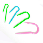 Спицы для вязания кос TBY-СВП пластик 4 шт. 2-4 мм