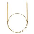 Спицы круговые Addi 80-100 см бамбук 4,0 мм 555-7