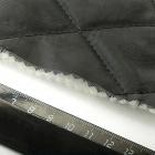 Стеганая подкладка 170Т большой ромб №5 черный
