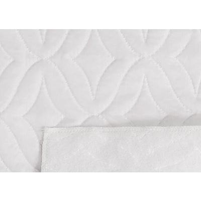 Стеганая подкладочная ткань термостежка «венеция» малая, атлас белый в интернет-магазине Швейпрофи.рф