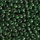 Бисер Preciosa Чехия (уп. 5 г) 56060 зеленый прозрачный перламутровый