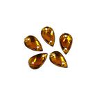Стразы пришивн. «Астра» (капля) 6*10 мм (уп. 18 шт.) 13 коричневый