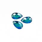 Стразы пришивн. «Астра» (капля) 6*10 мм (уп. 18 шт.) 32 голубой