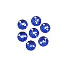 Стразы пришивн. «Астра» (круглые)  6,5 мм (уп. 25 шт.) 07 ультрамарин