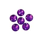 Стразы пришивн. «Астра» (круглые)  6,5 мм (уп. 25 шт.) 22 пурпурный