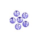 Стразы пришивн. «Астра» (круглые)  6,5 мм (уп. 25 шт.) 24 фиолетовый