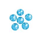 Стразы пришивн. «Астра» (круглые)  6,5 мм (уп. 25 шт.) 32 голубой