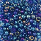 Бисер Preciosa Чехия (уп. 5 г) 61300 синий прозрачный радужный