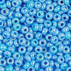 Бисер Preciosa Чехия (уп. 5 г) 64050 голубой радужный