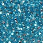 Бисер Preciosa Чехия (уп. 5 г) 67010 голубой с серебр. центром