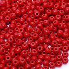 Бисер Preciosa Чехия (уп. 5 г) 93190 т.-красный