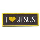 Термоаппликация AD1222 «I Love Jesus»