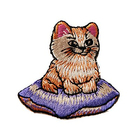Термоаппликация AD1363 «Котенок на подушке»