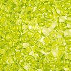 Бисер Preciosa Чехия (уп. 50 г) 01153 св.-салатовый прозрачный